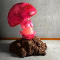 mushroom shroom 3d obj