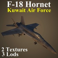 3d boeing kaf fighter