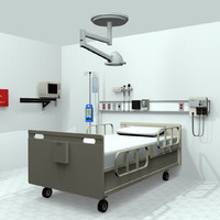Hospital Room Medical Equipment