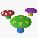 Rubber Mushrooms 3D models