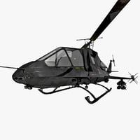 stealth helicopter 2 rigged max