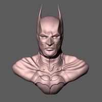 3d batman bust