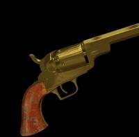 babydragoon barrel colt 3d model