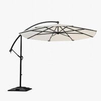 sunbrella based daffodil umbrella 3d model