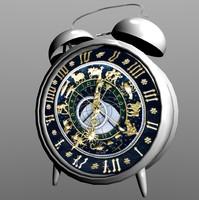 alarm clock alarmclock 3d 3ds