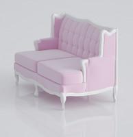 3d nice classical sofa