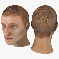 3ds male head 10