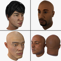 Male Head Collection