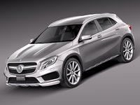 2014 mercedes mercedes-benz 3d obj