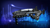 Sci-fi Submachine Gun
