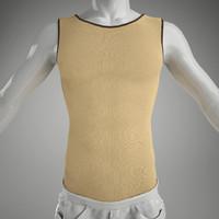 3ds max man s vest mannequin