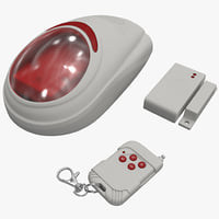maya wireless home security alarm