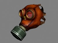 max leather gas mask