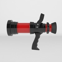 3d firefighter hose nozzle