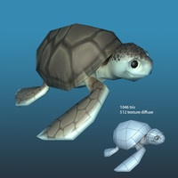 Lowpoly sea life package