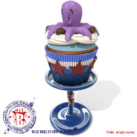 octopussy cupcake 3d 3ds