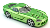 3d model 2008 dodge viper srt-10