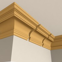 dxf interior cornice molding
