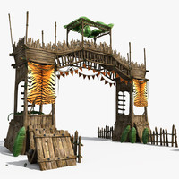 3d guard tower