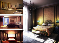 bed rooms 3d max