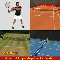 Tennis Game Pack