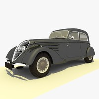 3ds classic 1939 peugeot black