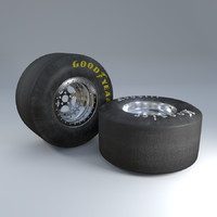 lwo wheel car tire