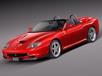 2002 ferrari 550 3ds