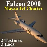 3ds max dassault falcon pvt