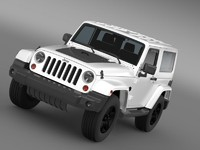 3ds max jeep wrangler arctic 2012