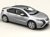 opel ampera car 3ds