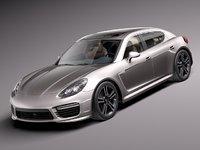 2013 2014 luxury sport 3d model