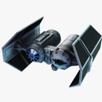 3d tie bomber model