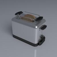 toaster toast fbx