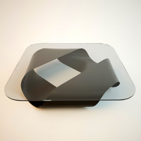 3ds max kristalia mobius coffee table