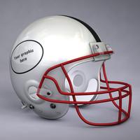 Generic American football helmet
