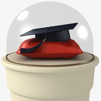 studenthat student hat 3d 3ds