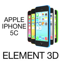 3ds apple iphone 5c element
