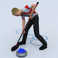 Curling Player