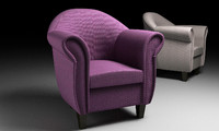 3d model armchair work