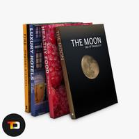 generic book 3d model