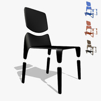 1v chair 3d max