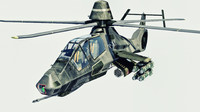 rah-66 comanche attack helicopter 3d model