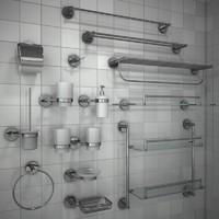 max set bathroom accessories