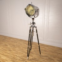 3d model of marine tripod