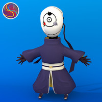 free obito uchiha 3d model