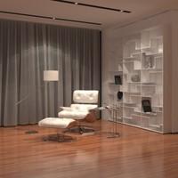 3dsmax loft studio eames chair