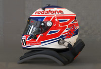 3d button 2013 f1 helmet model
