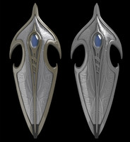 elven shield 3d 3ds