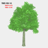 3ds max tree lm-01